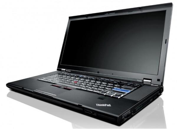 "Lenovo Thinkpad T500 15,6"" Intel Core 2 Duo T9950 2.66GHz 250GB HDD 4GB RAM W10P"