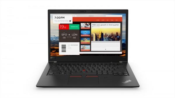 """Lenovo Thinkpad T480s i5-8350U 8GB RAM 256GB SSD 14""""FHD W10P WLAN BT CAM"""