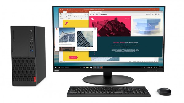 LENOVO V-Series V530 Tower Intel Core i5-8400 8GB 256GB SSD noOD IntelHD Graphics W10P64