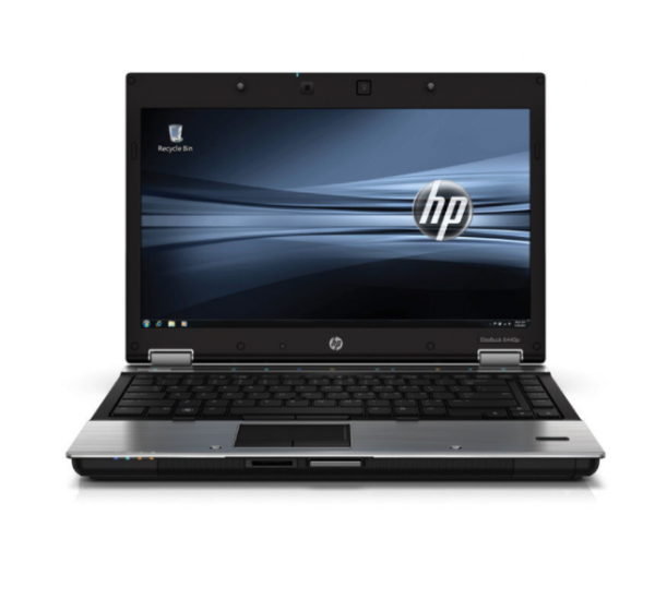 HP EliteBook 8440p Intel 2,4GHz 4GB RAM 250GB HDD DVD Windows 10 Pro