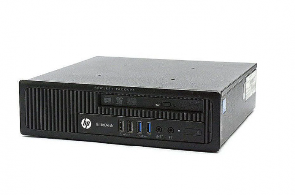 HP EliteDesk 800 G1, i5-4590S, 4 GB RAM, 500 GB HDD, Windows 10 Pro, Ultra Slim
