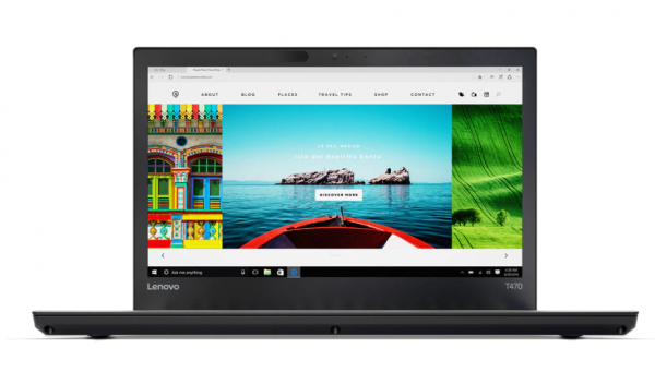 "LENOVO ThinkPad T470, Intel Core i5-7300U CPU 2.60GHz, 16GB RAM, 128GB SSD, 14""HD, Windows 10 Pro"