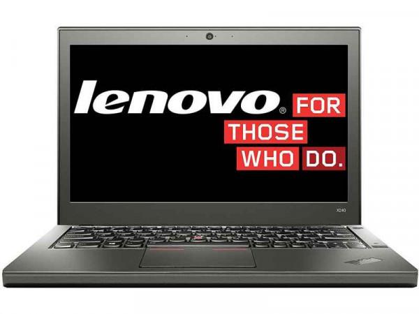 Lenovo ThinkPad X240 i5-4300U 1,9 GHz 4 GB RAM 180 GB SSD, HD 1366x768, Win 10 Pro