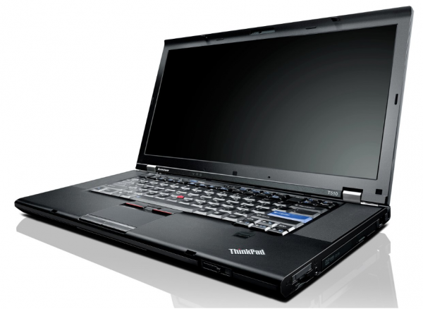 "Lenovo Thinkpad T510i 15,4"" Intel Core i3 M330 2.13GHz 250GB HDD 2GB RAM W10P"