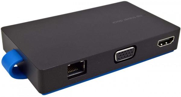 HP USB Travel HUB Dock Dockingstation für EliteBook und ProBook TPA-1502