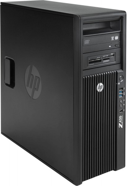 HP Z420 Workstation PC Intel Xeon E5-1620 1000GB HDD 16 GB RAM W10P Quadro 2000
