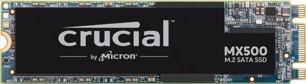 Crucial MX500 CT1000MX500SSD4 1TB (3D NAND, SATA, M.2 Type 2280SS, Internes SSD)