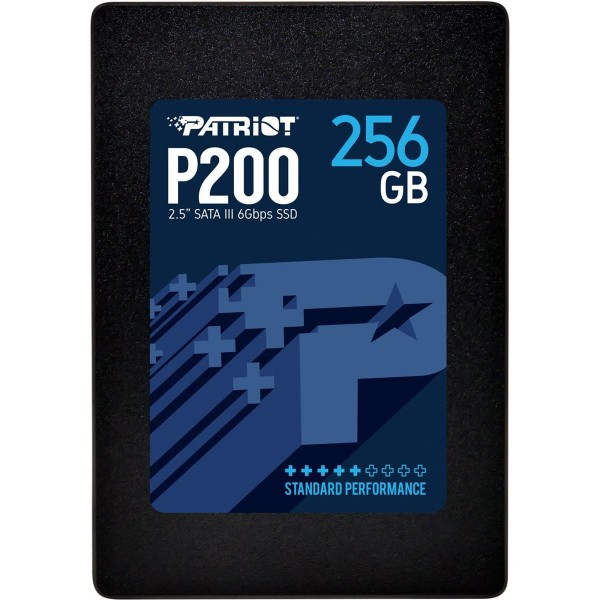 "256GB Patriot P200 2.5"" (6.4cm) SATA 6Gb/s 3D-NAND TLC (P200S256G25)"