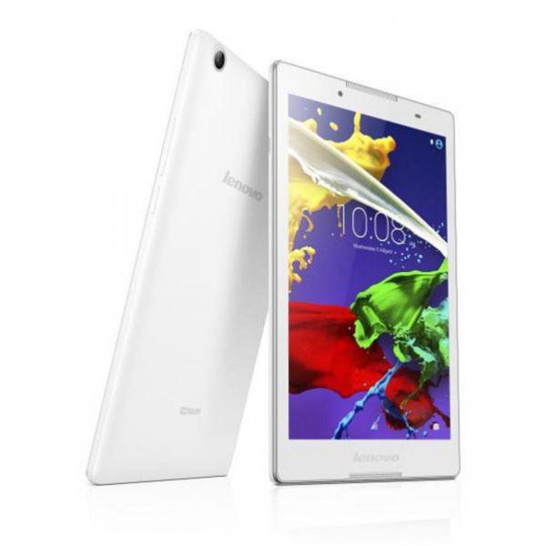 Lenovo Tab 2 A8-50F weiß Tablet, 8'' HD IPS-Display, Quad-Core, 1GB RAM, 16GB Flash, Android 5.0
