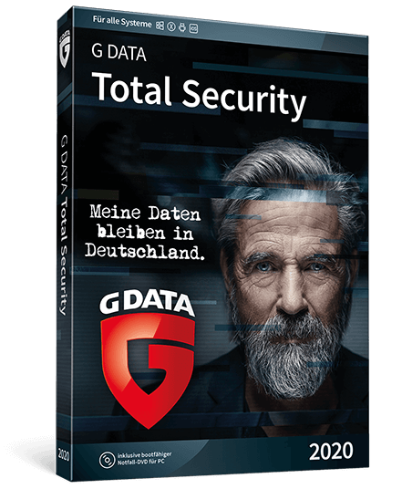 G DATA Total Security 2020 1PC - 12 Monate - Deutsch - Vollversion