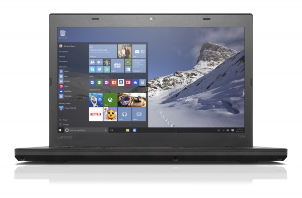 "Lenovo Thinkpad T460, i5-6300U CPU, 8GB RAM, 128GB SSD, 14"" Zoll, HD Display, UMTS, Win 10 Pro"